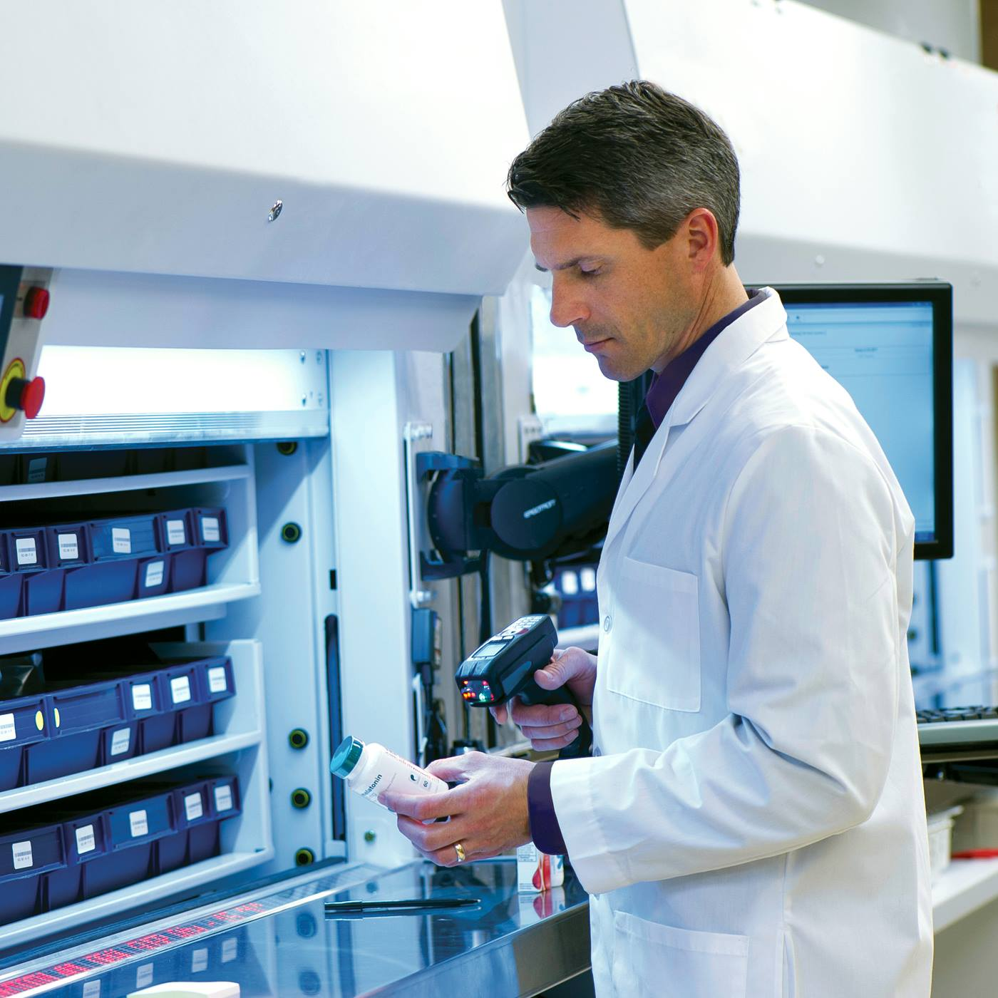 Integrates with AutoPharm Enterprise - Facilitates accurate comprehensive order tracking and control